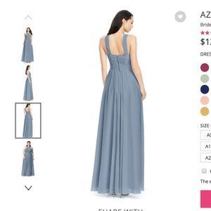 64c23cc8f55 Azazie Dresses - AZAZIE Bridesmaid Dress Kaleigh in Dusty Blue